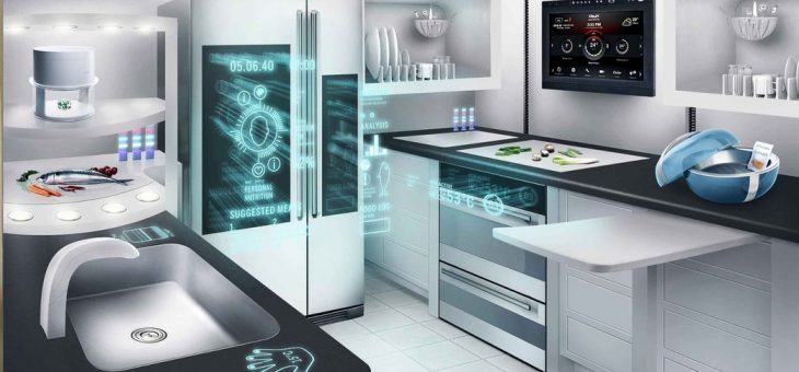 Kitchens of the Not Too Distant Future
