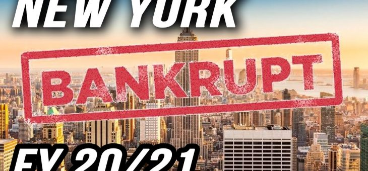 NYC's elevated bankruptcy risk is hiding in the FY2021 Adopted Budget